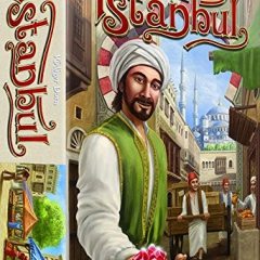 ISTANBUL board game - FRENCH + ITALIAN version