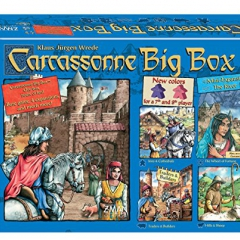 Z-Man Games Carcassonne Big Box Board Game