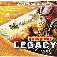 Pandemic Legacy Season 2 Board Game, Yellow