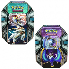 Pokemon TCG: Legends of Alola Tin Solgaleo & Lunala Tin Combo