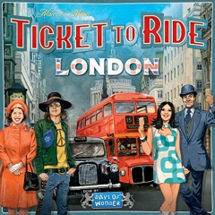 Days of Wonder DOW720061 Ticket to Ride: London, Mixed Colours