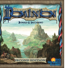 "Rio Grande Games RGG531 ""Dominion Second Edition"" Game"