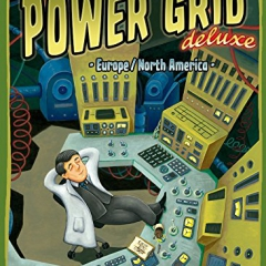 Rio Grande Power Grid Deluxe Europe/ North America Board Game