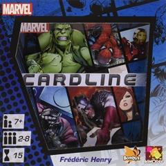 Asmodee Marvel Cardline