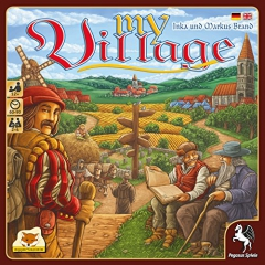 Pegasus Spiele 54514G My Village Board Game