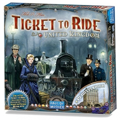 Ticket To Ride United Kingdom and Pennsylvania Game