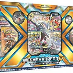 Pokemon TCG: Mega Sharpedo Mega Premium Collection EX Box