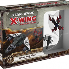 Star Wars X-Wing: Guns for Hire Expansion Pack - English