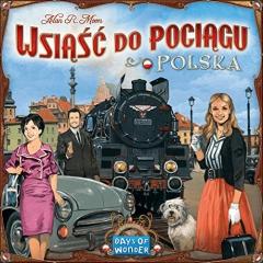 Ticket to Ride Poland - Wsiąść do pociągu Polska - English and Polish Rules