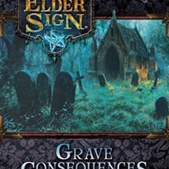 Elder Sign Grave Consequences Expansion - English