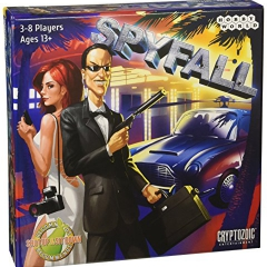 Cryptozoic Spyfall Card Game