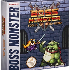 Boss Monster: Tools of Hero Kind Boxed Card Game Expansion