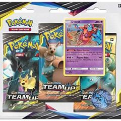 Pokemon TCG: Sun & Moon 9 Team Up Blister 3-Pack