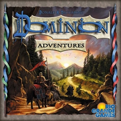 Rio Grande Games Dominion Expansion Adventures Card Game