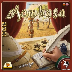 Pegasus Spiele 54562G Mombasa Board Game