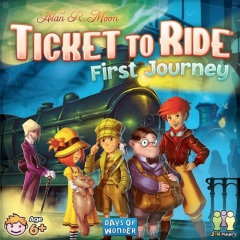 Ticket to Ride First Journey - US Edition