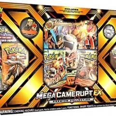 Pokemon TCG: Mega EX Camerupt Premium Collection EX Box