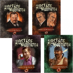 Hostage Negotiator Card Game: Abductor Packs 1-4