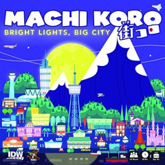 IDW Games SEP160613 Machi Koro Bright Lights Big City Card Game
