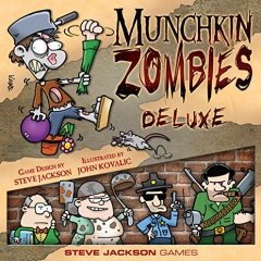 "Steve Jackson Games ""Munchkin Zombies Deluxe"" Card Game"