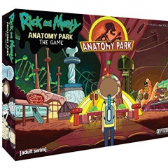 Cryptozoic Entertainment Rick and Morty Anatomy Park Game