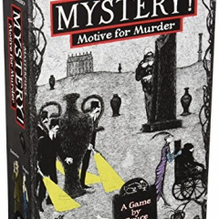 Mayfair Games Mystery! Motive for Murder Card Game
