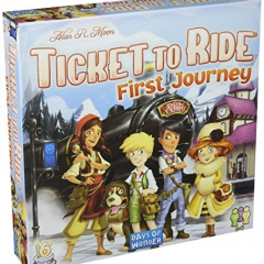 Days of Wonder Ticket to Ride Europe: First Journey
