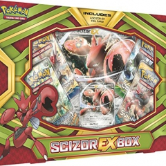 "Pokémon POK80294 ""TCG Scizor-EX Box"" Card Game"