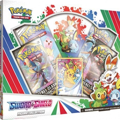Pokémon POK80706 TCG: Sword & Shield Figure Collection, Multicolor