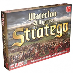 Jumbo Games Stratego Battle of Waterloo Strategy Board Game
