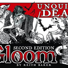 Atlas Games ATG01355 Gloom: Unquiet Dead, 2nd Edition Card Game