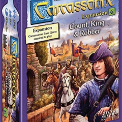 Carcassonne Count, King and Robber