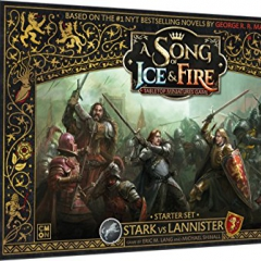 CoolMiniOrNot CMNSIF001 Thrones Stark vs Lannister Starter Set: A Song of Ice and Fire Miniatures Game Core Box, Mixed Colours