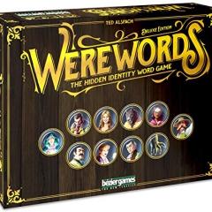 Bezier Games BEZWWDX Werewords Deluxe, Multicoloured