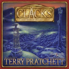 Backspindle Games Clacks-a-Discworld Board Game