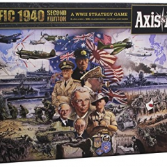 Axis and Allies Pacific 1940 Second Edition Board Game