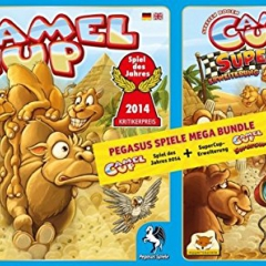 Camel Cup Board Game and Supercup Expansion Bundle
