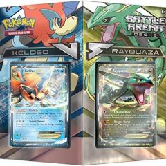 "Pokemon POK80168 ""TCG Battle Arena Deck Rayquaza vs Keldeo"" Card Game"