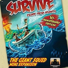 Stronghold Games Survive The Giant Squid Board Game