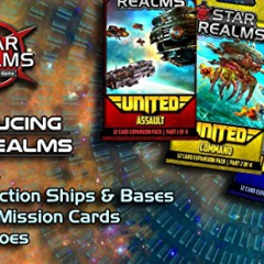 Star Realms: United - complete set of all four mini expansions (Assault, Command, Missions, Heroes)