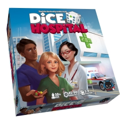 Dice Hospital Kickstarter base game plus Deluxe add-ons pack